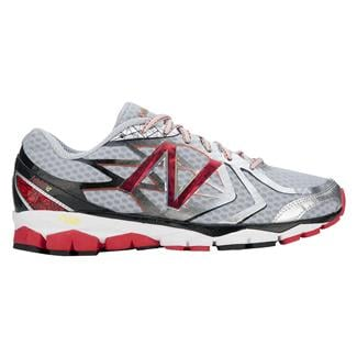 New Balance 1080v4 Silver / Red