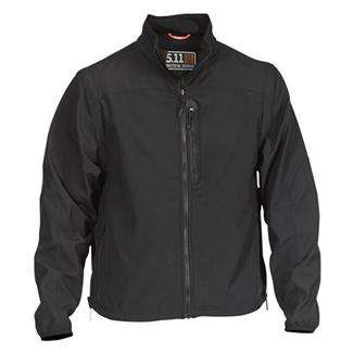 5.11 Valiant Softshell Jacket Black