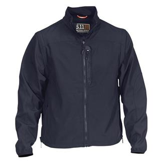 5.11 Valiant Softshell Jackets Dark Navy