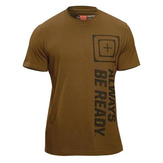 5.11 RECON ABR Tee Shirt Battle Brown