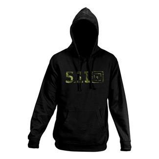 5.11 Camo Hoodie Black