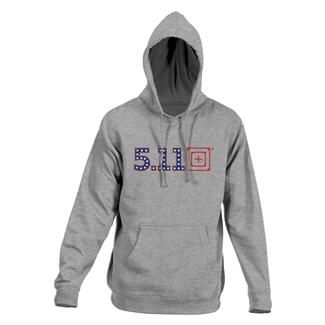 5.11 Independence Hoodie Heather Gray