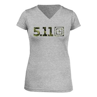 5.11 Urban Assault T-Shirt Heather Gray