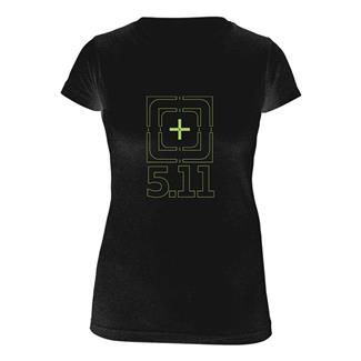 5.11 Bullseye T-Shirt Black