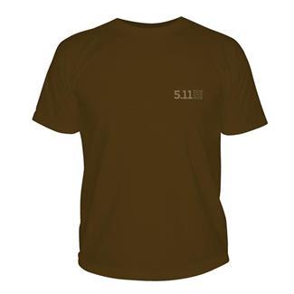 5.11 Bullet Shark T-Shirt Chocolate Brown