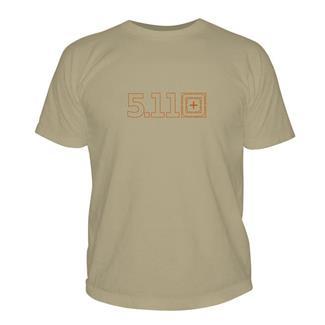 5.11 Target Zero T-Shirt Tan