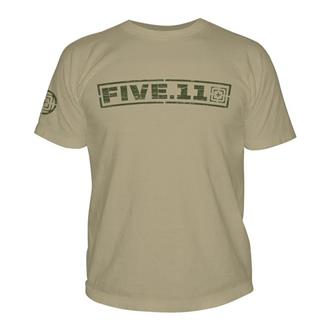 5.11 Pulling Rank T-Shirt Tan