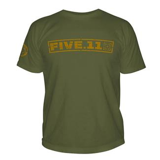 5.11 Pulling Rank T-Shirt OD Green