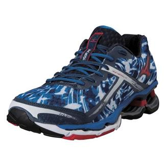 Mizuno Wave Creation 15 Olympian Blue / Chinese Red