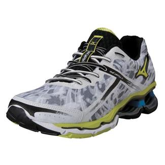 Mizuno Wave Creation 15 White / Lime Punch / Dude Blue