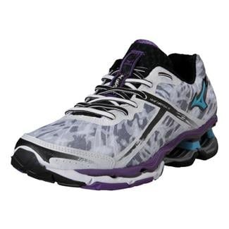 Mizuno Wave Creation 15 White / Aquarius / Pansy