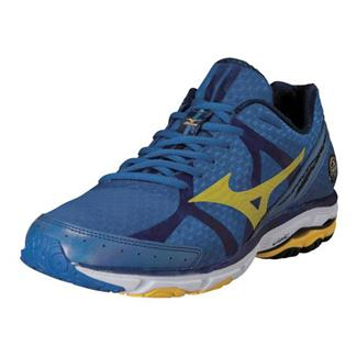 Mizuno Wave Rider 17 Olympian Blue / Cyber Yellow / Dress Blue