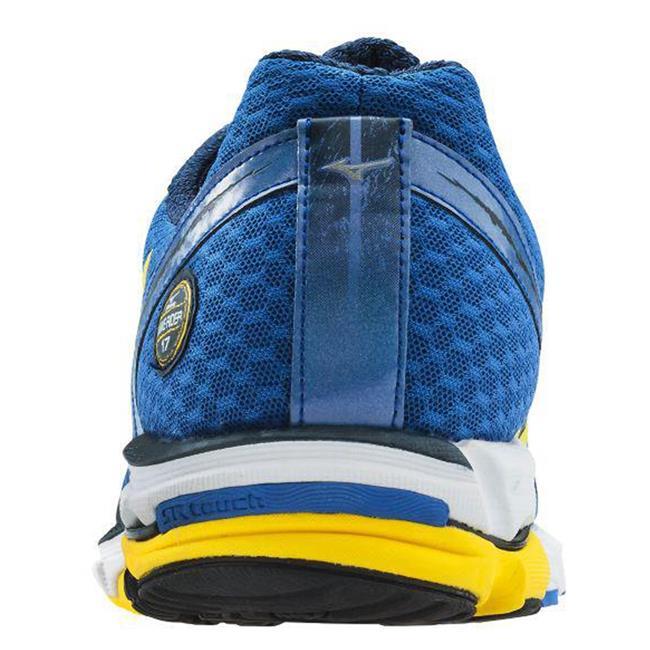 Mizuno Wave Rider 17 Olympian Blue / Cyber Yellow / Dress Blue