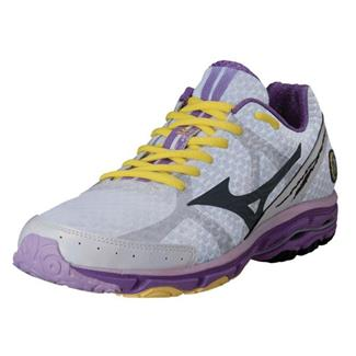 Mizuno Wave Rider 17 White / Dark Slate / Dewberry