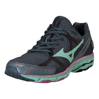 Mizuno Wave Rider 17 Dark Slate / Cabbage / Raspberry Rose