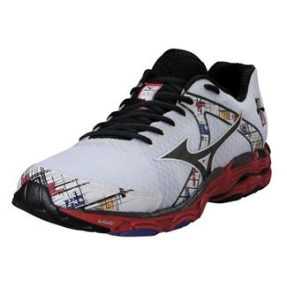 Mizuno Wave Inspire 10 White / Black / Chinese Red