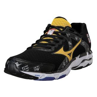 Mizuno Wave Inspire 10 Black / Cyber Yellow / Directoire Blue