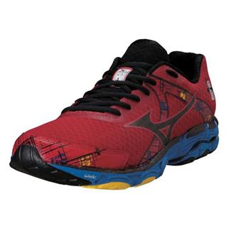 Mizuno Wave Inspire 10 Chinese Red / Black / Directoire Blue
