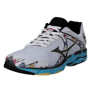 Mizuno Wave Inspire 10 White / Black / Aquarius