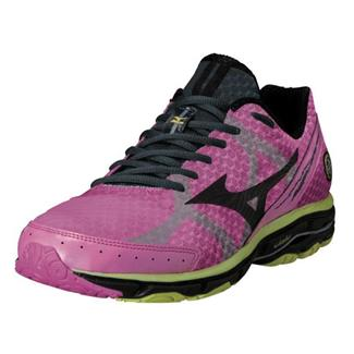 Mizuno Wave Rider 17 Electric / Black / Lime Punch