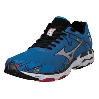 Mizuno Wave Inspire 10 Directoire Blue / Silver / Chinese Red