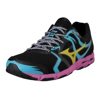 Mizuno Wave Hitogami Black / Cyber Yellow / Electric