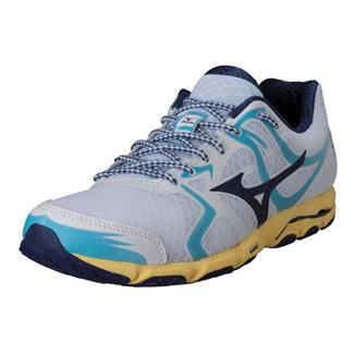 Mizuno Wave Hitogami White / Blue Depths / Aurora