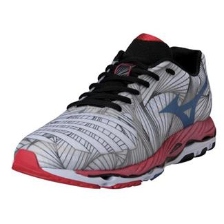 Mizuno Wave Paradox White / Olympian Blue / Chinese Red