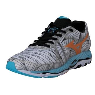 Mizuno Wave Paradox White / Bright Marigold / Aquarius