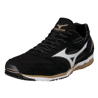 Mizuno Wave Ekiden Black / White / Gold