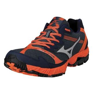 Mizuno Wave Ascend 8 Dark Slate / Silver / Vibrant Orange