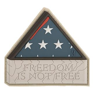 Maxpedition Freedom Is Not Free Patch Arid