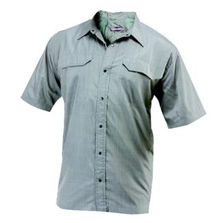 24-7 Series Concealment Camp Shirt Charcoal