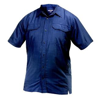 24-7 Series Concealment Camp Shirt Navy