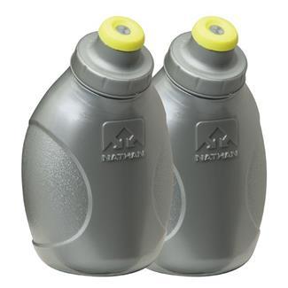 Nathan Push-Pull Cap Flask - 10oz Silver