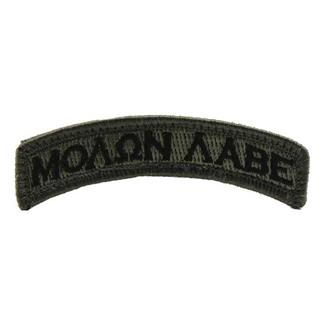 Mil-Spec Monkey Molon Labe Tab Patch ACU-Dark