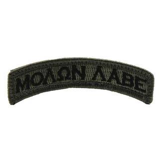 Mil-Spec Monkey Molon Labe Tab Patch ACU-Dark