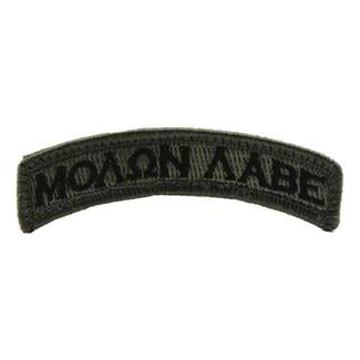 Mil-Spec Monkey Molon Labe Tab Patch