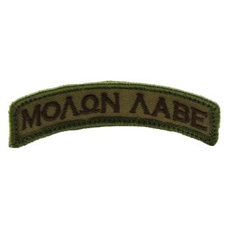 Mil-Spec Monkey Molon Labe Tab Patch Multicam