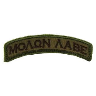 Mil-Spec Monkey Molon Labe Tab Patch Multicam