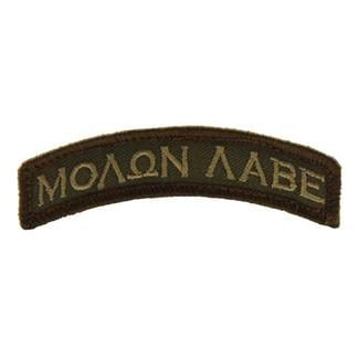 Mil-Spec Monkey Molon Labe Tab Patch Forest