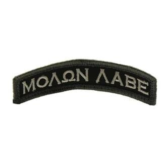 Mil-Spec Monkey Molon Labe Tab Patch Swat