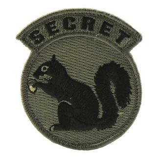 Mil-Spec Monkey Secret Squirrel Patch ACU-Dark