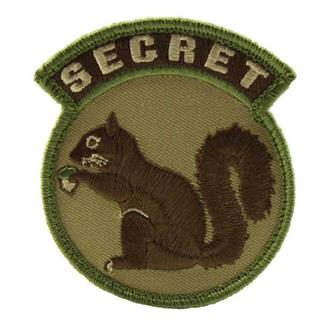 Mil-Spec Monkey Secret Squirrel Patch MultiCam