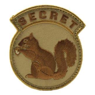 Mil-Spec Monkey Secret Squirrel Patch Desert