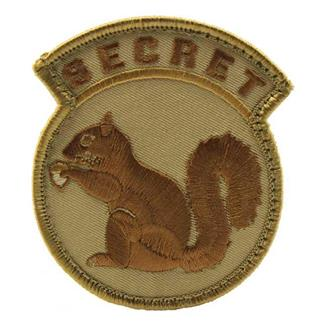 Mil-Spec Monkey Secret Squirrel Patch Desert