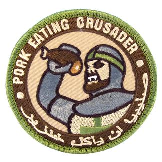 Mil-Spec Monkey Pork Eating Crusader Patch Arid