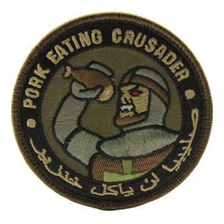 Mil-Spec Monkey Pork Eating Crusader Patch Forest