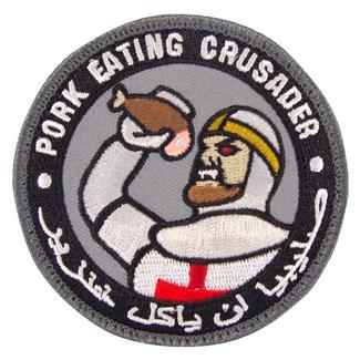Mil-Spec Monkey Pork Eating Crusader Patch Swat