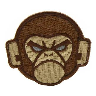 Mil-Spec Monkey Monkey Head Logo Patch Arid